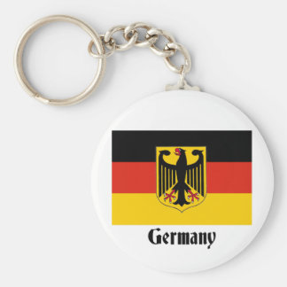 German Eagle Flag Key Chain