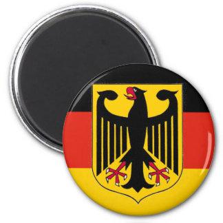 German Eagle Flag Magnet