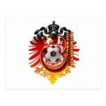 German Eagle Germany Soccer badge Post Cards