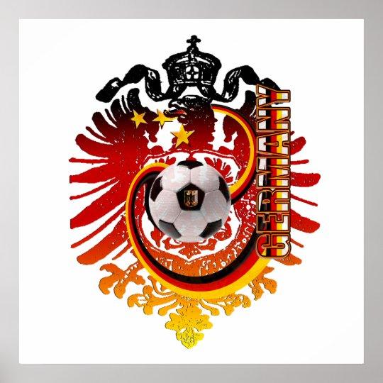 German Eagle Germany Soccer Badge Poster Zazzle