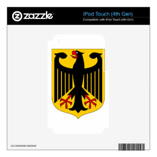 German Eagle iPod Touch 4G Decals