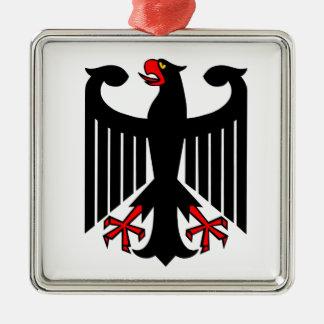 German Eagle Metal Ornament