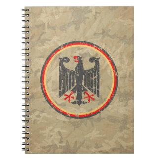 German Eagle Notebook