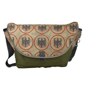 German Eagle Pattern Courier Bag
