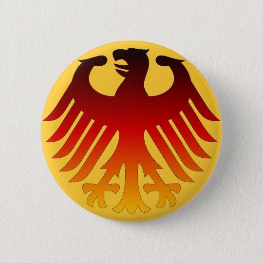 German Eagle Pinback Button