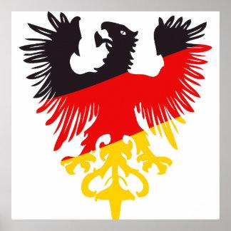 German Eagle Poster