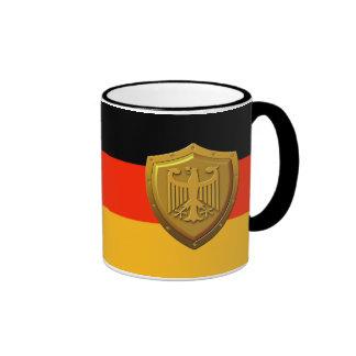 German Eagle Shield Ringer Mug