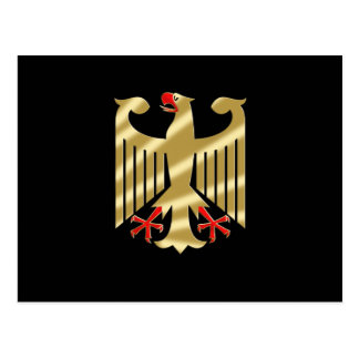 German Eagle shirts and Gifts Postcard