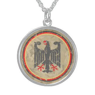 German Eagle Sterling Silver Necklace