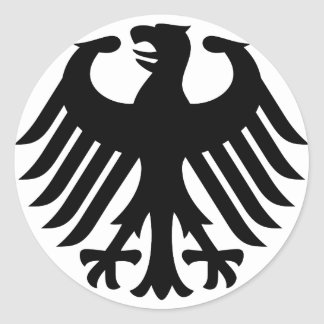 German Eagle Stickers