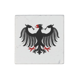 German Eagle Stone Magnet