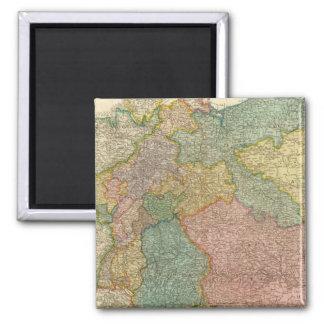 German Empire Atlas Map Fridge Magnet