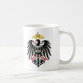 German Empire Coat of Arms (1889) Classic White Coffee Mug