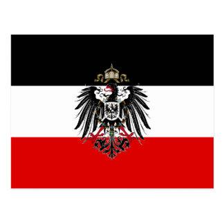 German Empire Flag Postcard
