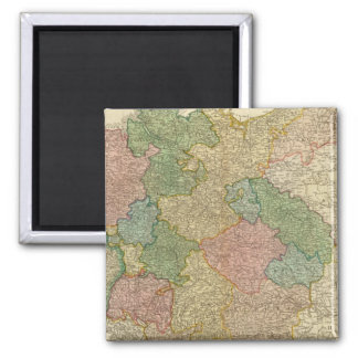 German Empire Map Magnets