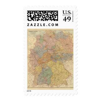German Empire West Stamp