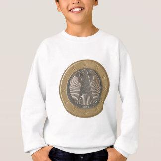 German Euro coin Sweatshirt