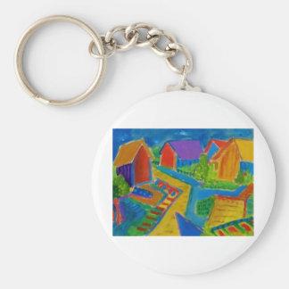 German Expressionism F21 Keychain