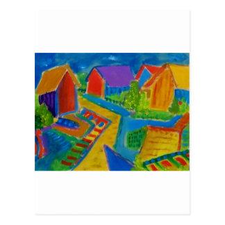 German Expressionism F21 Postcard