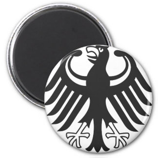 German federal eagle 2 inch round magnet