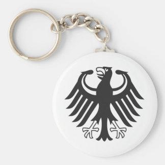 German federal eagle keychain