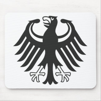 German federal eagle mouse pads