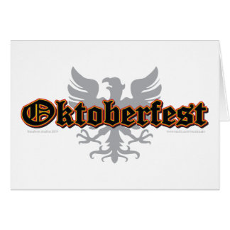 German-Fest-Bird Card