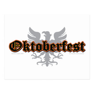 German-Fest-Bird Postcard
