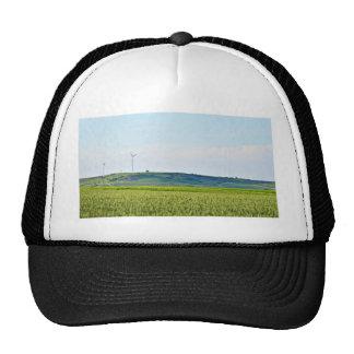 German Field Using Sustainable Energy Trucker Hat