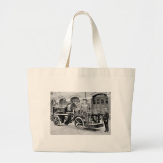 German Fire Engine, early 1900s Tote Bag