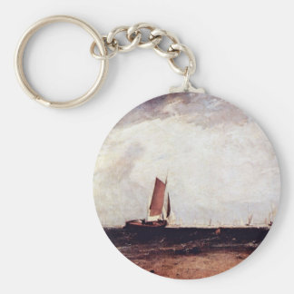 German Fishing: Blythe Sand On The Flood Begins By Keychain