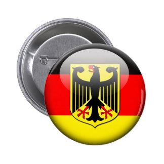 German Flag 2.0 2 Inch Round Button