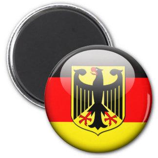 German Flag 2.0 2 Inch Round Magnet