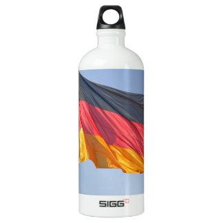 German Flag Aluminum Water Bottle