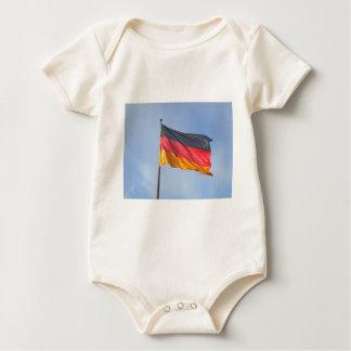 German Flag Baby Bodysuit