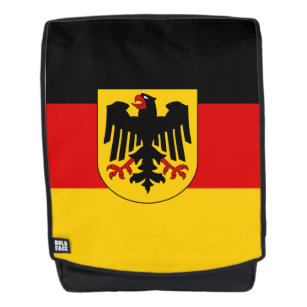 German flag backpack