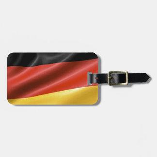 German Flag Bag Tag