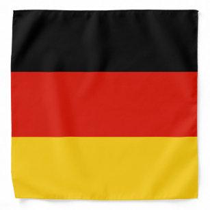 "22/""x22/"" German Germany Deutschland Flag Bandana"