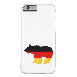 German Flag - Bear Cub Barely There iPhone 6 Case