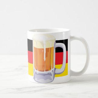 German Flag & Beer Coffee Mugs