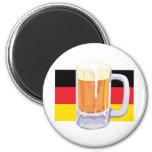 German Flag & Beer Magnet