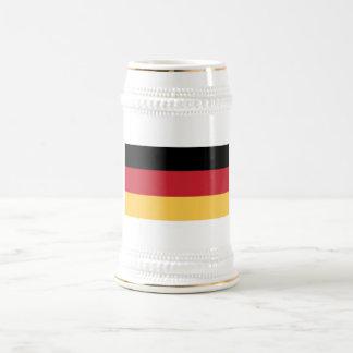 German Flag Beer Stein Mug