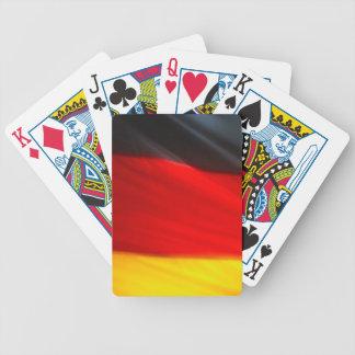 GERMAN FLAG BICYCLE PLAYING CARDS