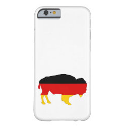 German Flag - Bison Barely There iPhone 6 Case
