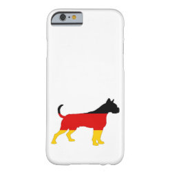 German Flag - Boxer Barely There iPhone 6 Case