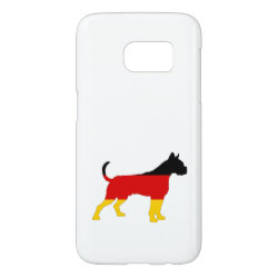 German Flag - Boxer Samsung Galaxy S7 Case