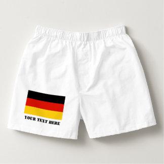 German flag boxer short or mens briefs for Germany