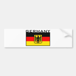 German Flag Bumper Stickers