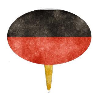 German Flag Cake Topper