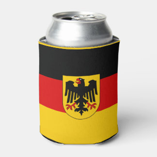 German flag can cooler